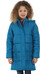Regatta Winter Hill Coat Girls Petrol Blue